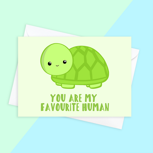 From The Turtle Tortoise Card