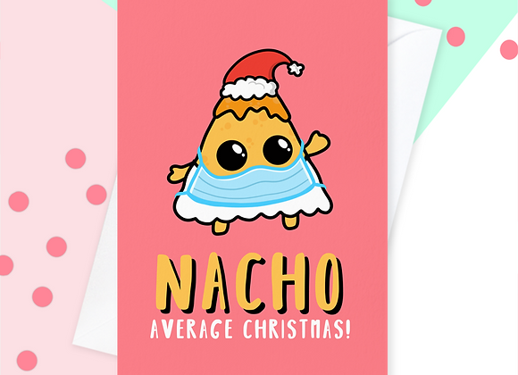 2020 Nacho Christmas Card