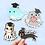 Thumbnail: Animal Graduation Sticker Pack