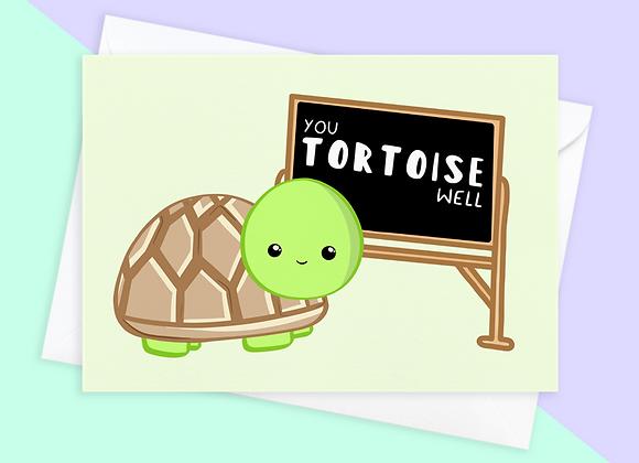 Tortoise Thank You Teacher Card