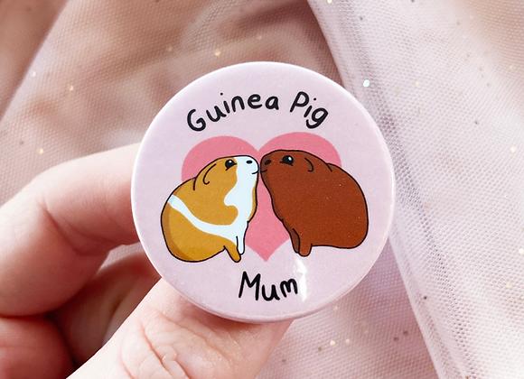 Guinea Pig Owner Badge