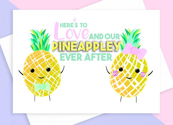 Pineapple Anniversary Card