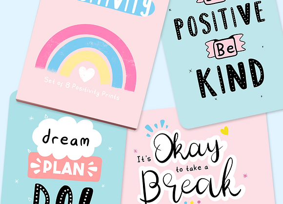 Little Box Of Positivity Prints