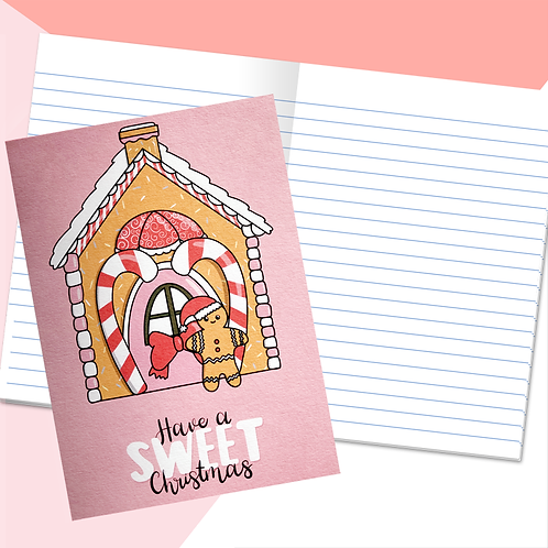 Gingerbread House Notebook