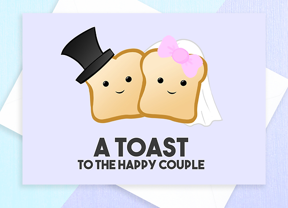 Toast To The Happy Couple