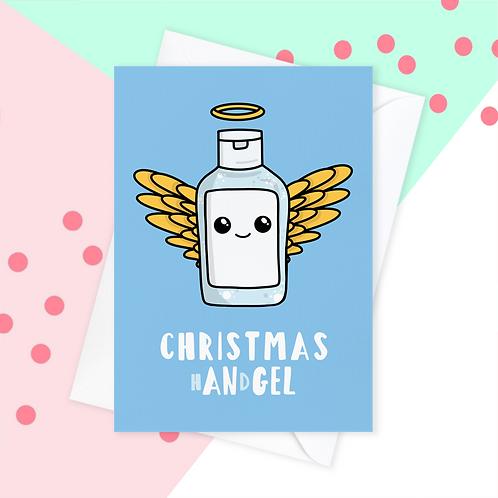 Lock Down Handgel Christmas Card