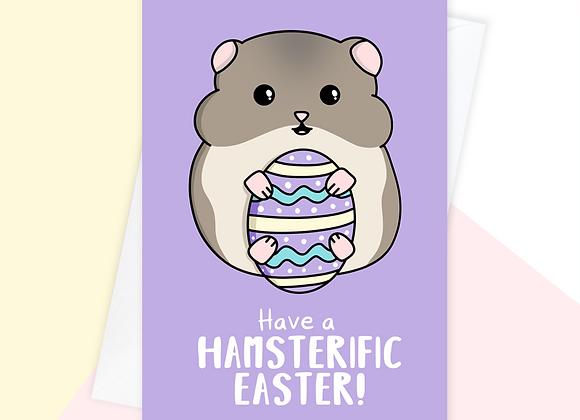 Hamster Easter Card