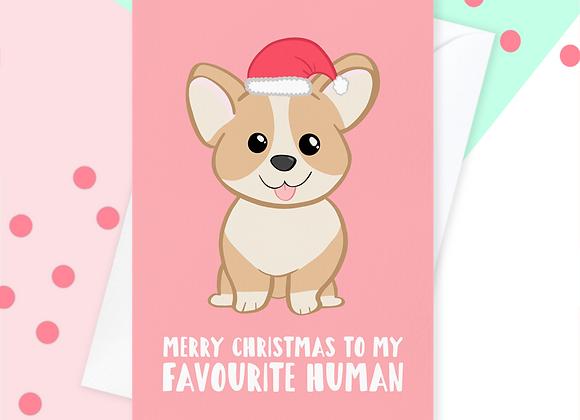 Christmas Card From The Corgi