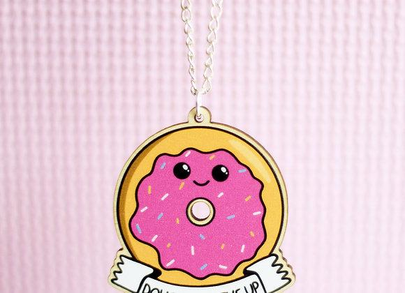 Positivity Doughnut Necklace