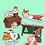 Thumbnail: Guinea Pig Christmas Sticker Pack