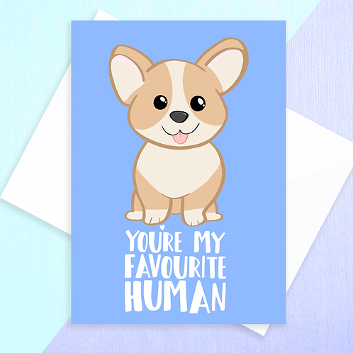 From The Corgi Card