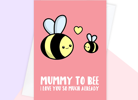 bumble bee mothers day card from bump