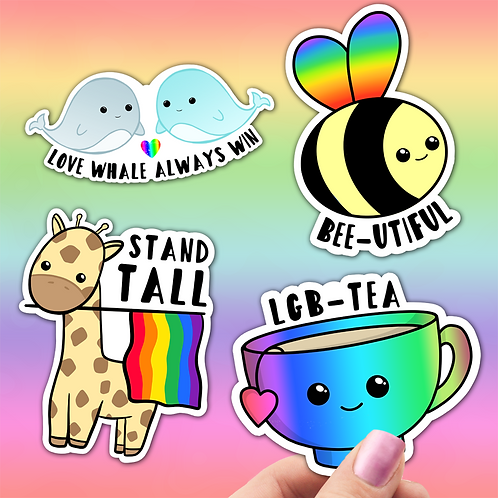 LGBT Pride Sticker Pack