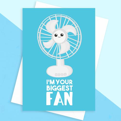 Biggest Fan Card
