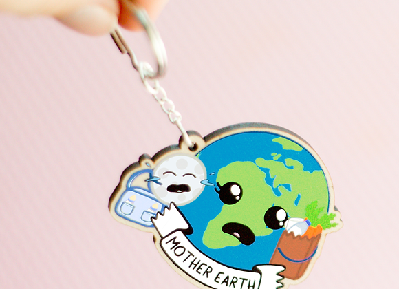 Mother Earth Keyring