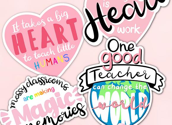 Teacher Sticker Pack