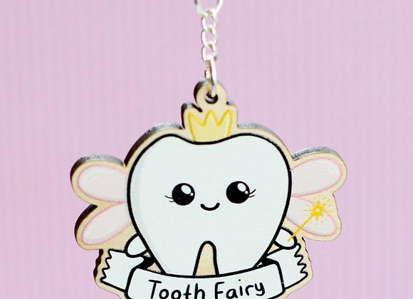 Tooth fairy Dentist Keyring