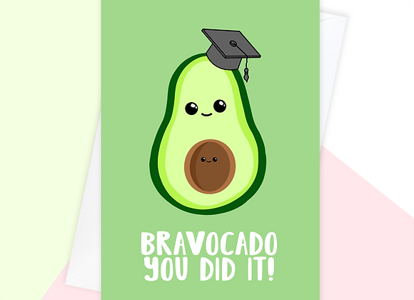 graduation card from the bump, pregnant university student card