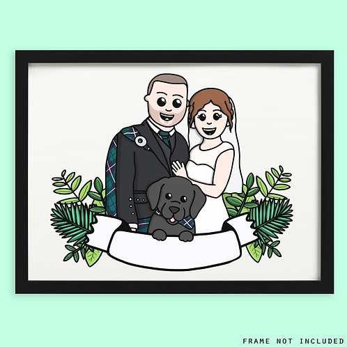 Engagement and Wedding Portrait
