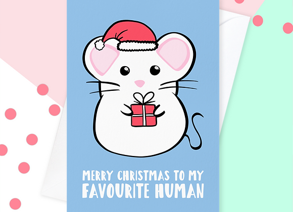 Christmas Card From The Mouse