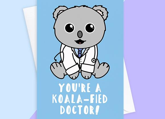 Koala Doctor Card