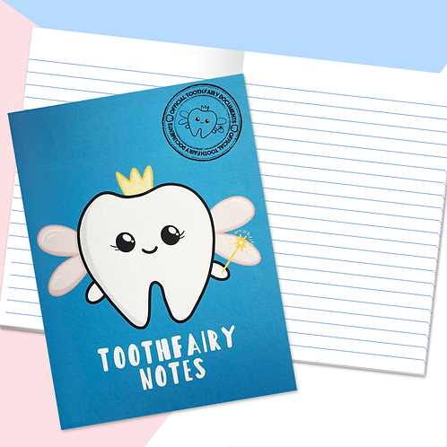 Dentist Toothfairy Notebook