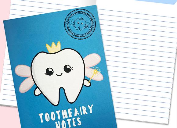 Dentist Toothfairy Notebook