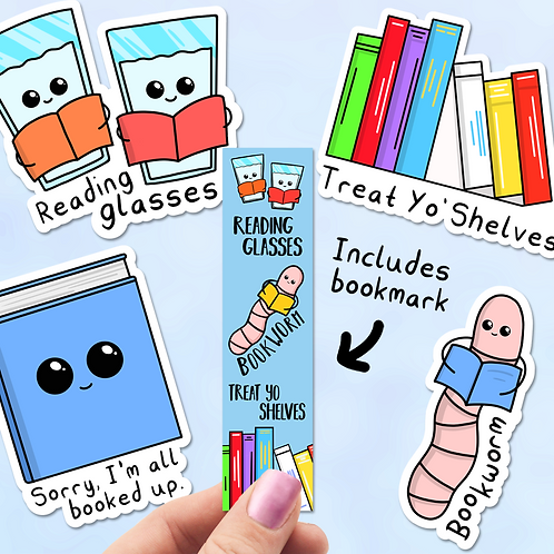 Book Sticker Pack