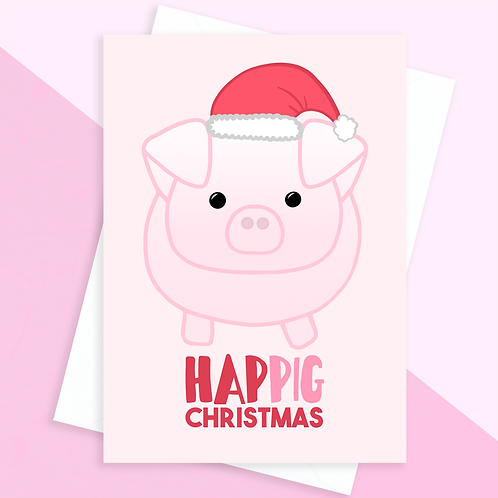 Pizza Christmas Card