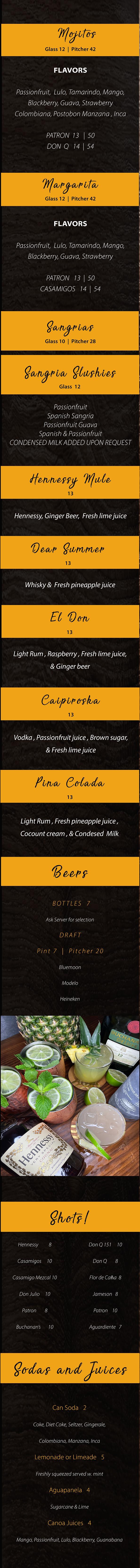 1st cocktail mobile Menu.png