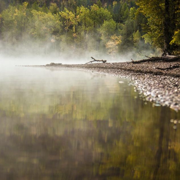 9 - Lake McDonald in the fall GNP