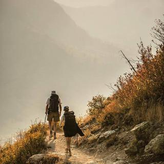 2 - Trail to Granite Chalet GNP