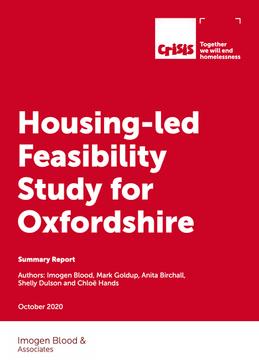 Housing Feasibility Study Oxfordshire 2020