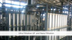 Ultrafiltration and Nano Filtration
