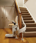 Stair Lifts Greensboro NC Acorn Curved stairlift