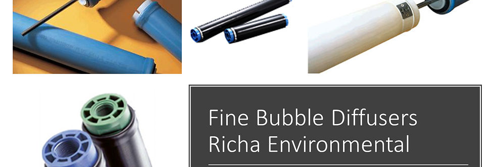 Tubular Fine Bubble Diffusers