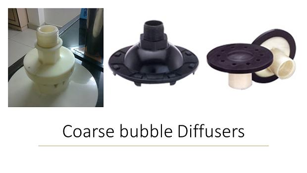 coarse bubble diffusers STP ETP Sewage Treatment Plants