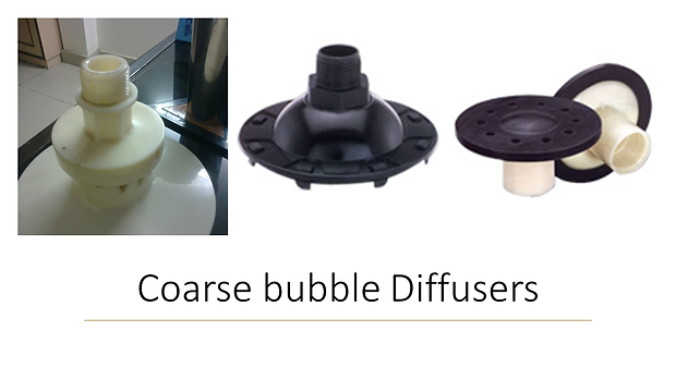 coarse bubble diffusers STP ETP Sewage Treatment Plants