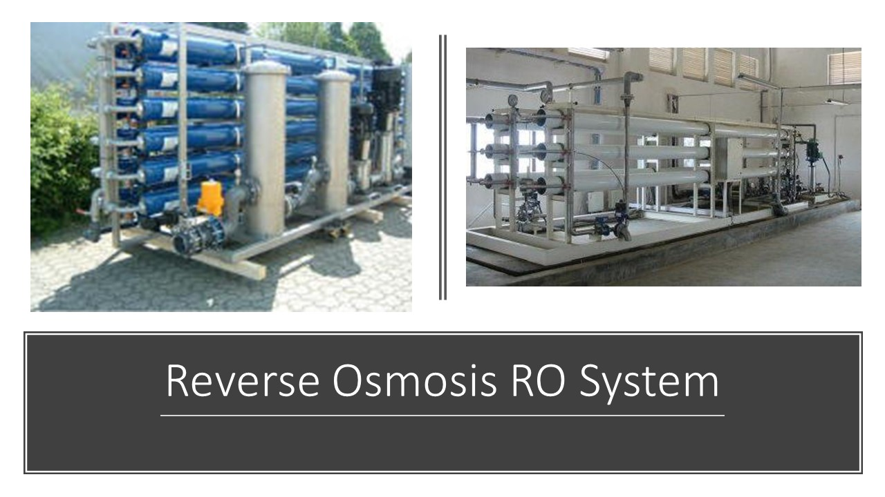 RO System Reverse Osmosis Industrial