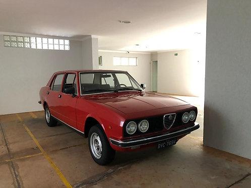 VENDIDA!!! Alfa Romeo 1977