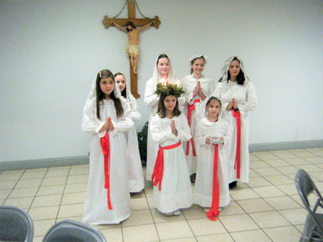 Gaudete Sunday / St. Lucy Feast at SGG