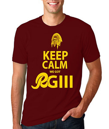 Keep Calm Redskins