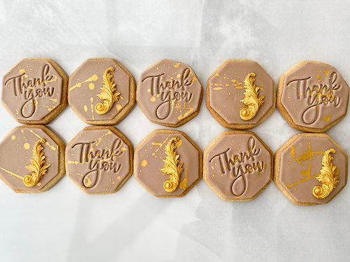 Thank- you cookie Happy Box (box of 6)