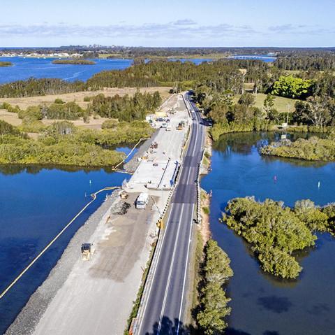 Bridge & Road Design over Romiaka Channel