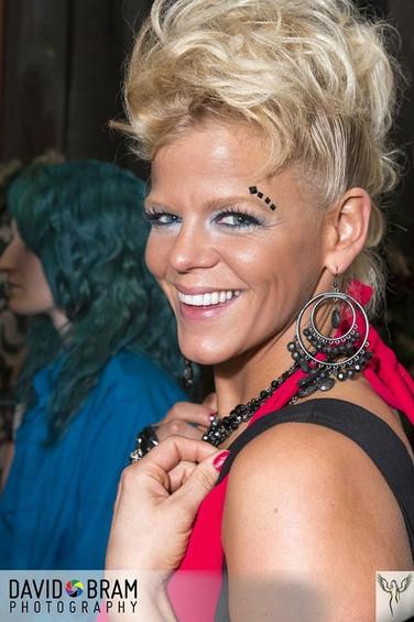 Hair by me. Makeup by Melissa Blayton's Pro Artistry Team. Photo by David Bram Photography, Kansas City, MO