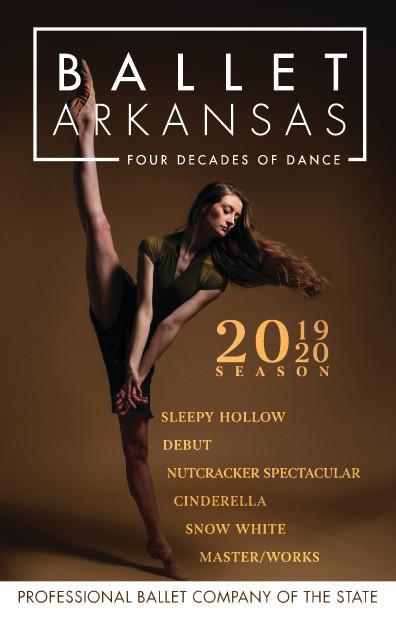 Ballet Arkansas 2019/20 Playbill Cover