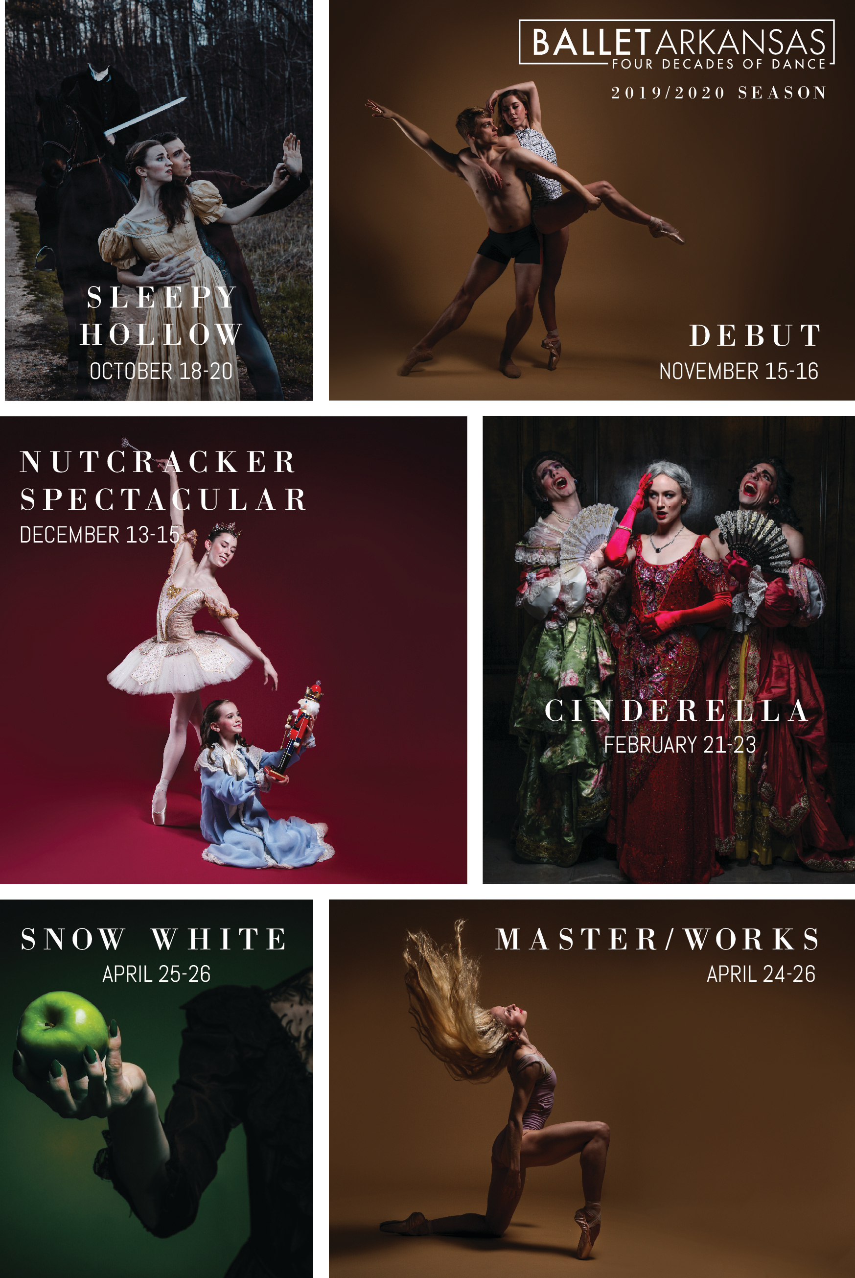 19/20 Season Poster - Offset Grid