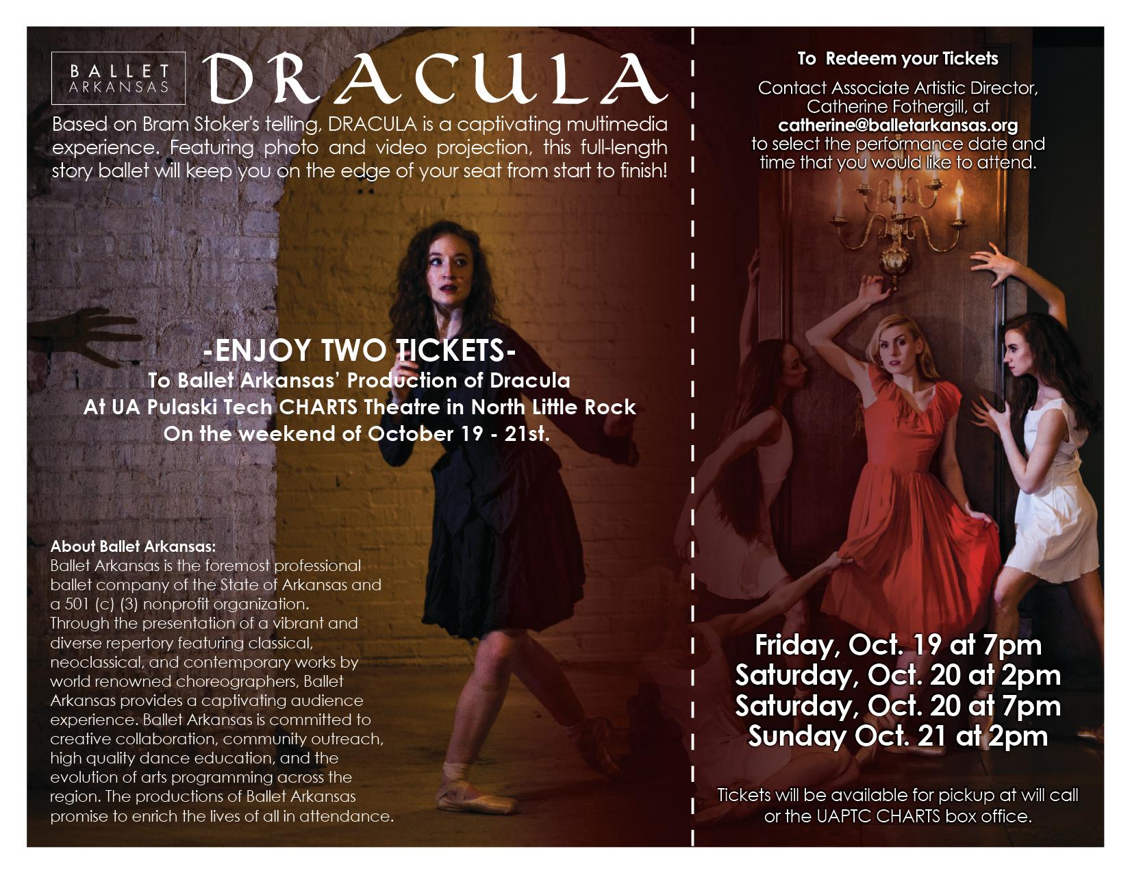 Dracula Donation Certificate