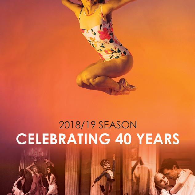 Ballet Arkansas 2018/19 Playbill Cover