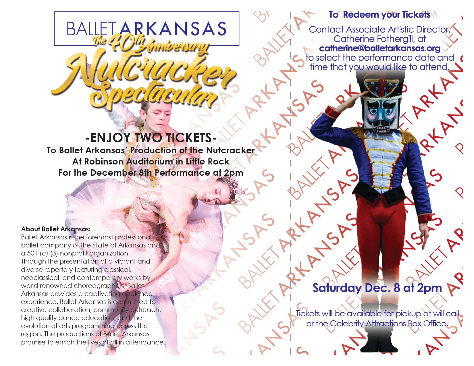 Nutcracker Donation Certificate